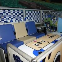 ナゴヤドーム座席ドアラ・テラスシート装飾