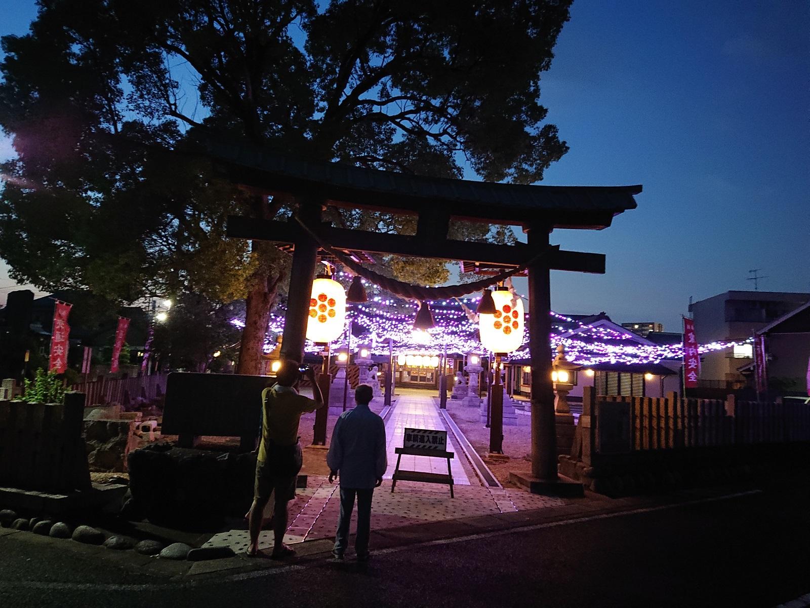 LED七夕祭り装飾